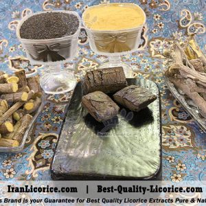 Liquorice Extract Blocks, Liquorice Extract Blocks